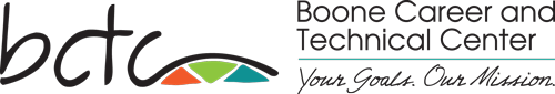 School logo for Boone Career and Technical Center