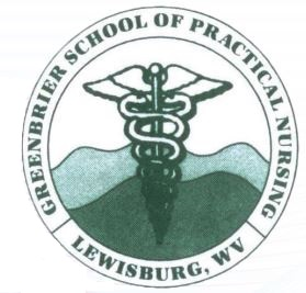 School logo for Greenbrier School of Practical Nursing
